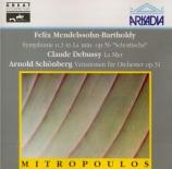 MENDELSSOHN-BARTHOLDY - Mitropoulos - Symphonie n°3 en la mineur op.56 '
