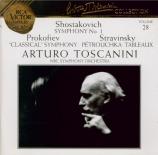 PROKOFIEV - Toscanini - Symphonie n°1 en ré majeur op.25 'Symphonie clas