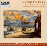 ULLMANN - Members of the - Sonate pour piano n°5 op.45