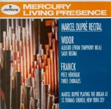 Marcel Dupre The Organ at St Thomas Church NYC