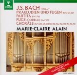 BACH - Alain - Prélude et fugue pour orgue en do mineur BWV.549 'Arnstad