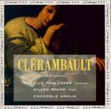 CLERAMBAULT - Poulenard - Léandre et Héro, cantate