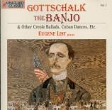GOTTSCHALK - List - Le banjo, fantaisie grotesque, op.15