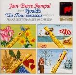 VIVALDI - Rampal - Quatre saisons (Les) op.8 n°1-4