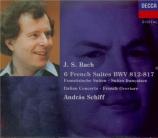 BACH - Schiff - Six suites françaises BWV 812-817