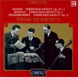 HAYDN - Vegh Quartet - Quatuor à cordes n°33 en sol mineur op.20 n°3 Hob