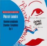 SCHOENBERG - Eötvös - Pierrot lunaire op.21