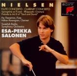 NIELSEN - Salonen - Concerto pour clarinette op.57