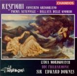 RESPIGHI - Mordkovitch - Poema autunnale, pour violon et orchestre P.146