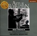 BEETHOVEN - Rubinstein - Sonate pour violon et piano n°5 op.24 'Le print