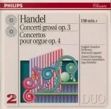HAENDEL - Schröder - Six concertos pour orgue op.4 HWV.289-294