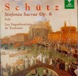 SCHÜTZ - Laurens - Symphoniae sacrae I, 20 concerts sacrés pour jusqu'à