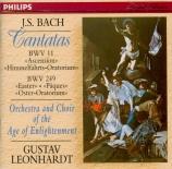 BACH - Leonhardt - Lobet Gott in seinen Reichen, cantate pour solistes