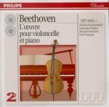 L'oeuvre pour violoncelle et piano