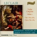 Violin Concertos Vol.1