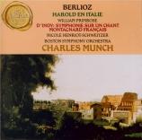 BERLIOZ - Munch - Harold en Italie op.16