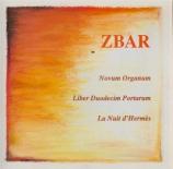 ZBAR - Novum Organum