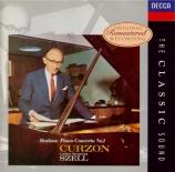 BRAHMS - Curzon - Concerto pour piano et orchestre n°1 en ré mineur op.1