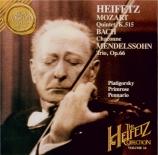 MOZART - Heifetz - Quintette à cordes n°3 en do majeur K.515