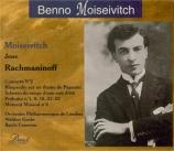 Moiseivitch joue Rachmaninov