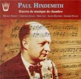 HINDEMITH - Debost - Sonate pour flûte et piano (1936)
