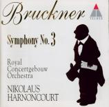BRUCKNER - Harnoncourt - Symphonie n°3 en ré mineur WAB 103