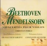 BEETHOVEN - Ferras - Concerto pour violon en ré majeur op.61