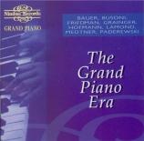 The grand piano era (1916/26)