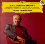 Boulez conducts Webern Vol.2