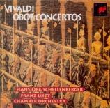 Concertos pour hautbois, cordes et basse continue