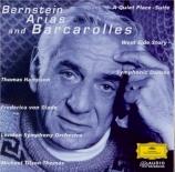BERNSTEIN - Tilson Thomas - Arias and barcarolles