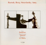 BARTOK - Damiens - Contrastes, pour violon, clarinette et piano Sz.111 B