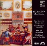 TELEMANN - Goodwin - Partita pour hautbois et basse continue, en sol maj