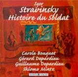 STRAVINSKY - Mintz - L'histoire du soldat, pour trois récitants et sept
