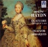 HAYDN - Quatuor Mosaïqu - Quatuor à cordes n°37 en si mineur op.33 n°1 H