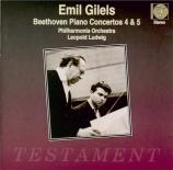 BEETHOVEN - Gilels - Concerto pour piano n°4 en sol majeur op.58