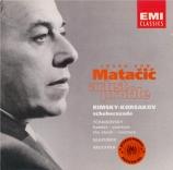 TCHAIKOVSKY - Matacic - Suite pour orchestre n°3 en sol majeur op.55