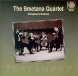 SCHUBERT - Smetana Quartet - Quintette à cordes à deux violoncelles en d