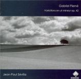 PIERNE - Sevilla - Variations pour piano en ut mineur op.42