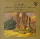 ATTERBERG - Westerberg - Symphonie n°1 op.3