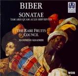 BIBER - Rare Fruits Cou - Douze sonatae 'Tam Aris quam aulis servientes'