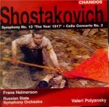 CHOSTAKOVITCH - Polyanskii - Symphonie n°12 op.112 'L'année 1917'