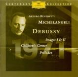 DEBUSSY - Michelangeli - Images I, pour piano L.110