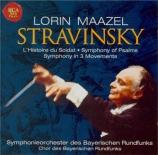 STRAVINSKY - Maazel - Symphonie en trois mouvements, pour orchestre