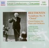 BEETHOVEN - Toscanini - Symphonie n°9 op.125 'Ode à la joie'