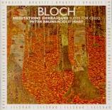BLOCH - Bruns - Trois suites pour violoncelle seul