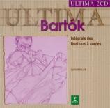 BARTOK - Keller Quartet - Quatuors à cordes (intégrale)