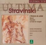 STRAVINSKY - Dutoit - L'histoire du soldat, pour trois récitants et sept