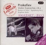 PROKOFIEV - Ricci - Concerto pour violon n°1 en ré majeur op.19