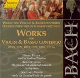 BACH - Egger - Sonate pour violon et clavier n°6 en sol majeur BWV.1019 Vol.123